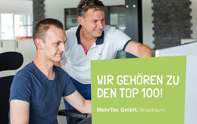 Wir gehören zu den Top 100!