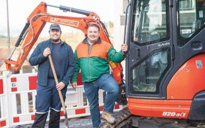 Die drei Brüder Christian, Jürgen und Rolf Theisen haben ihr Hobby zum Beruf gemacht.